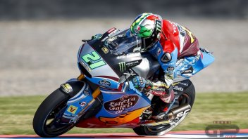 Moto2: Morbidelli domina il warm up in Argentina