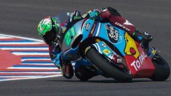 Moto2: FP2: Morbidelli beffa Schrotter e si prende la vetta