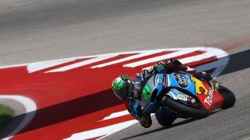 Moto2: Doppietta tricolore in Texas, Morbidelli in pole, 2° Pasini