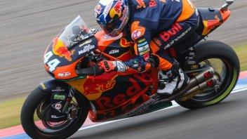 Moto2: FP1: Oliveira precede Morbidelli, 5° Pasini