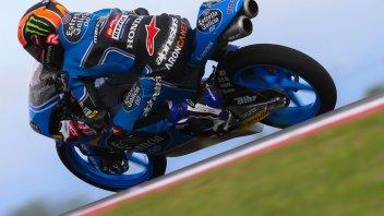 Moto3: FP1: Canet spaventa tutti, 2° Fenati