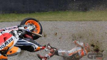 "MotoGP: Marquez: ""The crash? Strange, I wasn't even at the limit"""