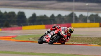 SBK: FP3: Davies porta la Ducati in vetta, 3° Melandri
