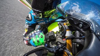 Moto2: Franco Morbidelli, selfie at Mugello on facebook