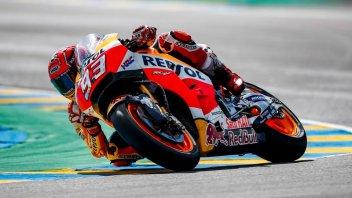 MotoGP: WUP: Irrompe Marquez, seguito da Folger e Zarco, 8° Rossi