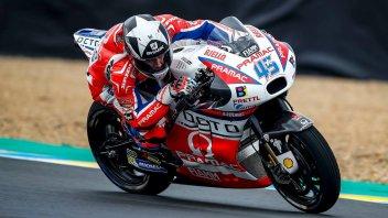 MotoGP: FP3: Le Mans punisce gli indecisi, 1° Redding, 4° Rossi