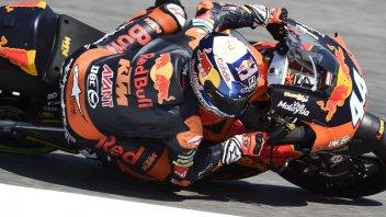 Moto2: FP1: Oliveira e la KTM in vetta al Montmelò