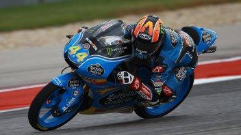 Moto3: FP2: Canet beffa Fenati, 3° Mir seguito da Bulega
