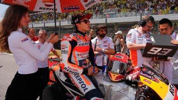 MotoGP: Marquez: non era la giornata in cui poter rischiare