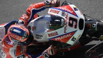 MotoGP: Petrucci: per una leggerezza ho perso la 1ª fila