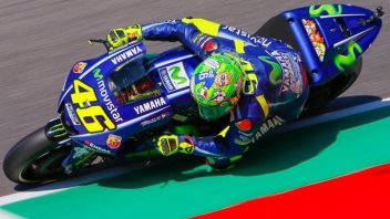 MotoGP: 'Cucchiaio' di Rossi nella FP3 al Mugello