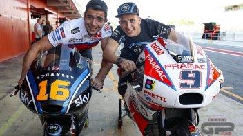 MotoGP: Petrucci e Migno si scambiano le moto