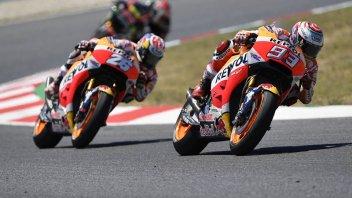 MotoGP: Sachsenring: sette volte Marquez, ma Pedrosa insidia il record