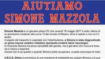 News: Due iniziative per aiutare Simone Mazzola