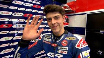 """SBK: Di Giannantonio: """"Provare la Honda Superbike? Accetterei subito!"""""""