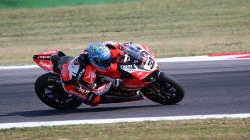 SBK: FP3: Melandri regala la vetta a Ducati