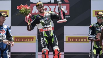 "SBK: Sykes; ""Winning today was a gift"""