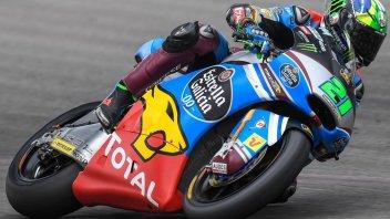 Moto2: Pole da maestro per Morbidelli, 4° Pasini