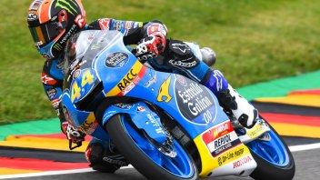 Moto3: QP: zampata di Canet al Sachsenring