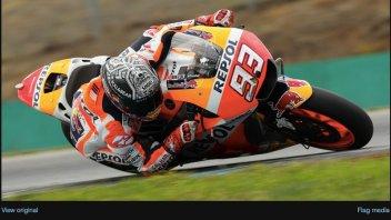 MotoGP: Marquez in azione a Brno nel primo giorno di test