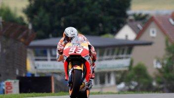 MotoGP: FP3 Marquez suona la carica e si prende la vetta, 6° Rossi