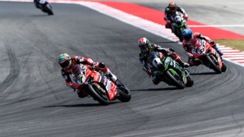 SBK: Aprilia, Ducati and Kawasaki in action on the Lausitzring