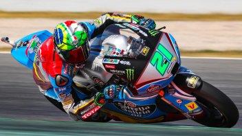 Moto2: FP2: Morbidelli il migliore con caduta, 3° Corsi