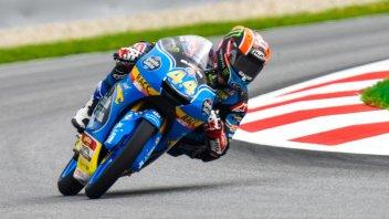 Moto3: FP2: Canet in vetta, 3° Bastianini