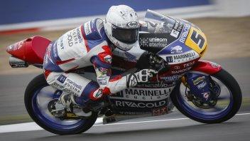 Moto3: FP3: Fenati fa il vuoto, 2° Dalla Porta