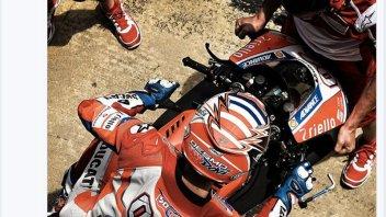 MotoGP: Dovizioso già in pista per i test a Misano