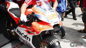 MotoGP: PHOTO. The new Ducati fairing at Brno