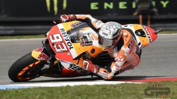 MotoGP: Marquez beats Rossi to pole at Brno