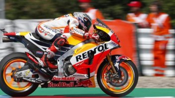 MotoGP: Marquez suona la carica in FP3, 2° Pedrosa, 3° Rossi