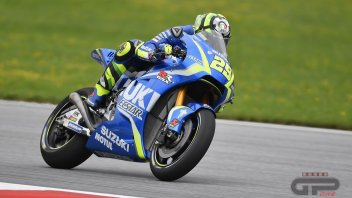 MotoGP: More problems in the garage for Iannone: used front tyre