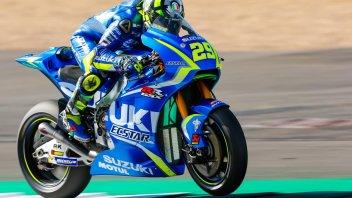 MotoGP: Iannone sorprende nel warm up, Marquez in scia
