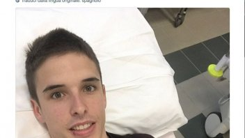 Moto2: The San Marino GP is over for Alex Marquez: fractured hip