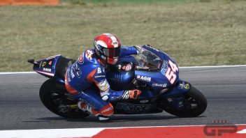 Moto2: Pasini remembers Sic at Misano by wearing his helmet