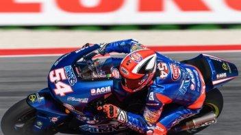 Moto2: FP2: doppietta tricolore, 1° Pasini, 2° Morbidelli