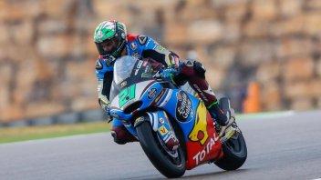 Moto2: Morbidelli ringhia su Aragon
