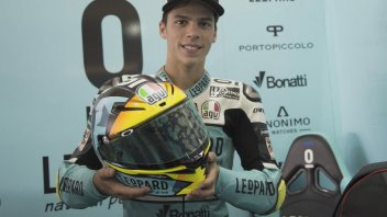 Moto3: A special helmet for Mir at Aragon