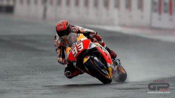 MotoGP: WUP: Marquez ancora a terra, ma è imprendibile sul bagnato