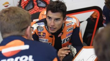 MotoGP: Marquez: Taking risks today made no sense