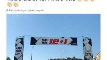 News: La Vuelta pays homage to Angel Nieto