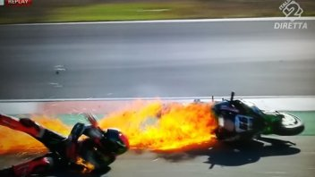 SBK: FP3: Sykes fright, bike in flames, weekend over
