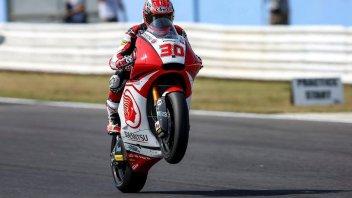 Moto2: Nakagami domina anche la FP2, 3° Bagnaia, 7° Morbidelli