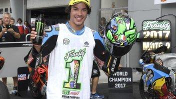 """Moto2: Morbidelli: """"Ho vinto il Mondiale ascoltando Bob Marley"""""""