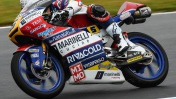 Moto3: WUP: Fenati il più veloce a Motegi dopo la bandiera rossa