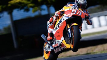 MotoGP: Test. Marquez on the attack in Australia, Rossi responds