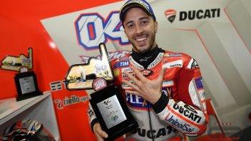 MotoGP: Dovizioso: aver battuto Marquez è dolce ma non abbastanza