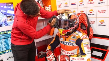 MotoGP: Marquez: I mounted slicks but it was too risky